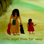 little angel from far away-cd baby cover 3